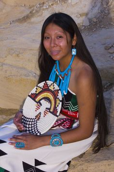 Hopi Woman, Hopi Indian Reservation, Arizona, USA