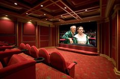 Idea for our media room.
