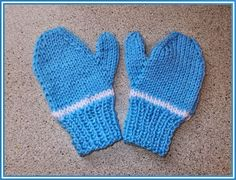 Easy Two Needle Children's Mittens - Looking for a way to keep your kiddos warn and use up some of your scrap yarn? Then check out these Easy Two Needle Children's Mittens. Because they are so tiny, this pattern is perfect for anyone who wants to learn how to knit mittens. This tutorial has two sizes for toddlers and children, making them great for all of your little ones. These free knitting patterns are a cinch to whip out and will keep your little ones warm as they go sledding, build…