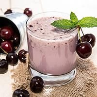 Cherry Almond Ginger Smoothie