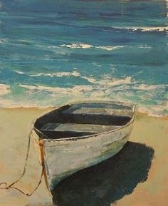 portfolio of beautiful artwork by painter and sculptor Brian Cameron with samples of landscapes, seascapes, still lifes and figures. Art Painting, Landscape Paintings, Beginner Painting, Beach Painting, Boat Art, Sailboat Painting, Beach Art, Seascape Paintings, Watercolor Boat