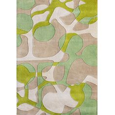 Alliyah Handmade Lime Green New Zealand Blend Wool Rug (¥35,700) ❤ liked on Polyvore featuring home, rugs, beige, geometric rug, contemporary rugs, lime green rug, ivory rugs and cream rug