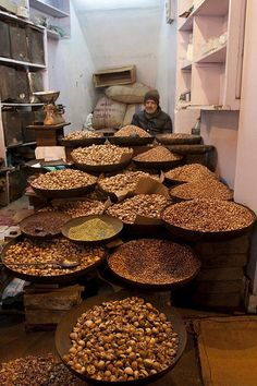 Nuts for Sale, Old Delhi India, by T_Lo, via Flickr