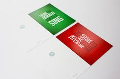 graphic design christmas cards - Google Search