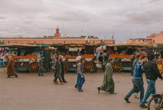 Street photography in Morocco. #africa #street #markets #wheels #people