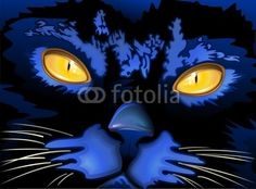 #Cats, #Big_Cats & #Kitties #Illustrations by #BluedarkArt, via #Behance