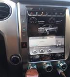 This radio can be installed in Toyota Tundra 2014 - 2018. Stunning, feature-rich. Plug and Play. Retain most OEM features. WiFi, Bluetooth, MirrorLink.