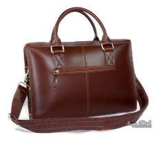 Leather Laptop Bags | Leather briefcase bag, 14 inch leather laptop bag - BagsWish