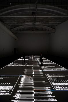 Flesh-coated Technology: Ryoji Ikeda
