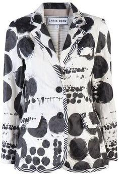 ShopStyle: Chris Benz royal jacket