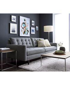 6 Small Living Room Design Tips and Ideas - Des Home Design Design Living Room, Living Room Grey, Living Room Modern, Living Room Sofa, Apartment Living, Living Room Furniture, Living Room Decor, Small Living, Condo Living