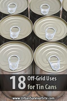 Most people throw away tin cans without a second thought, but as you'll see, in a survival scenario they can be put to good use. via @urbanalan