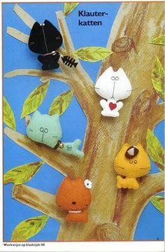 Pequeños muñecos en fieltro :lodijoella