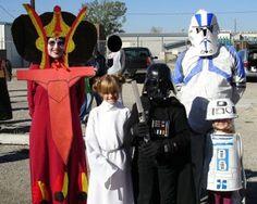 disfraz casero divertido de Star Wars