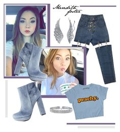 """""""Meredith foster"""" by vivistyle21 on Polyvore featuring Charlotte Russe, Bling Jewelry and BERRICLE"""
