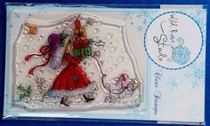 Wild Rose Studio 'Annabelle with Gifts' Clear Stamp | eBay