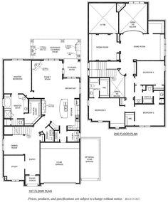 Conrad Floorplan Emerald Homes San Antonio