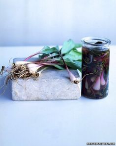 ... foraged foods gallery more piquant pickled pickled leeks pickled ramps
