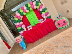 2nd Birthday Party For Girl, 1st Birthday Party Decorations, Second Birthday Ideas, Trolls Birthday Party, Girl Birthday Themes, Rainbow Birthday Party, Minnie Birthday, Diy Birthday, Zelda Birthday