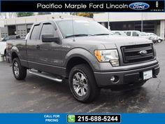 2013 Ford F-150 STX Gray $28,899 10977 miles 215-688-5244 Transmission: Automatic  #Ford #F-150 #used #cars #PacificoMarpleFordLincoln #PikeBroomall #PA #tapcars