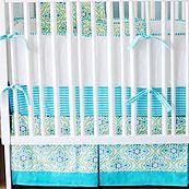Monterey Bay 4 Piece Crib Bedding Set