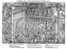 size: Giclee Print: Massacre at Vassy, French Religious Wars, 1 March 1562 by Jacques Tortorel : Entertainment East London, Find Art, Framed Artwork, Giclee Print, City Photo, War, French, Entertainment, Products