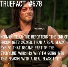 The walking dead fact