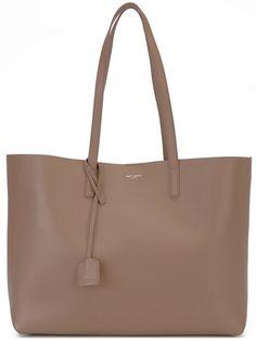 SAINT LAURENT Large Classic Shopper Tote. #saintlaurent #bags #leather #hand…