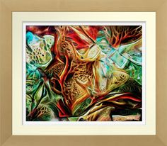 'Organic Composition' - Watercolor Print. Original watercolour by Roger Smith. Reproduced on Archival Heavyweight Paper https://www.zazzle.com/organic_composition_watercolor_print-228651587682783073 art #print #RogerSmith #watercolor #watercolour #organic