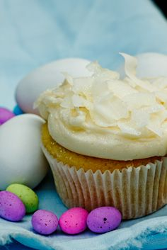 Coconut Cupcakes #cupcakes #baking #recipe I don't like coconut but maybe somebody will ask for something coconutty