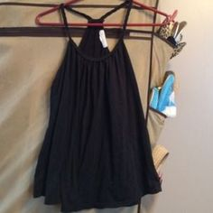 Forever 21 Braided Black Tank Top Size Medium. Check it out!  Size: M