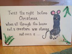 Karsons footprint mouse