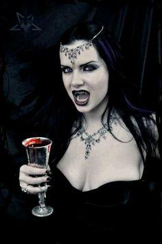 Hot vampire goth girl good