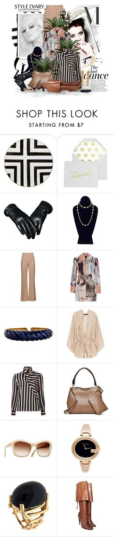 """Style Diary"" by marleen1978 ❤ liked on Polyvore featuring Christian Lacroix, Anja, J.Crew, Chanel, Nina Ricci, Carven, Elizabeth and James, Emanuel Ungaro, Calvin Klein and Gucci"