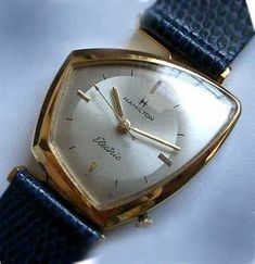 Just noticed a couple of my favorite vintage Hamilton watches are up for auction this week. The 1969 Odyssee introduced in conjunctio. Vintage Hamilton Watches, Vintage Watches, Cool Watches, Watches For Men, Wrist Watches, Men's Watches, Stylish Watches, Skeleton Watches, Vintage Design