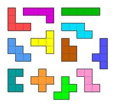 juego flash para descargar de PENTAMINOS Montessori Math, Preschool Learning, Kindergarten Activities, Preschool Activities, Coding For Kids, Math For Kids, Printable Games For Kids, Brain Teasers, Math Worksheets