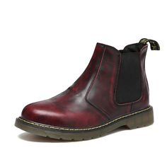 Plus Size 38~47 full grain leathre top quality men ankle boots designer men luxury brand chelsea mens boots shoes #>=#>=#>=#>=#> Click on the pin to check out discount price, color, size, shipping, etc. Save and like it!