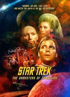 "Star Trek: The Original Series ""The Gamesters of Triskelion"" (First Broadcast: January Star Trek Books, Star Trek Tv, Star Trek Characters, Star Wars, Star Trek Wallpaper, Star Trek Original Series, Star Trek Series, Tv Series, Science Fiction"