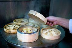 It's time for pork buns and rice rolls at the famed Hong Kong import. Chinese Bar, Rice Rolls, Pork Buns, Brooklyn New York, Dim Sum, Dumpling, Grubs, Restaurant Bar, Nyc