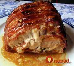 Pierna Rellena - New Site Mexican Dishes, Mexican Food Recipes, Ethnic Recipes, Kitchen Recipes, Cooking Recipes, Pork Recipes, Healthy Recipes, Good Food, Yummy Food