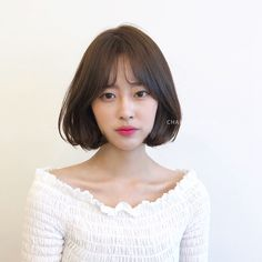 Pin on 헤어스타일 Pin on 헤어스타일 Korean Short Hair Bob, Short Hair Model, Medium Short Hair, Short Hair With Bangs, Medium Hair Cuts, Short Hair Cuts, Medium Hair Styles, Natural Hair Styles, Short Hair Styles