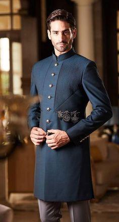 Designer Suits For Men, Designer Clothes For Men, Indian Men Fashion, African Fashion, Stylish Mens Outfits, Casual Outfits, Indian Outfits, Indian Clothes, Mens Ethnic Wear