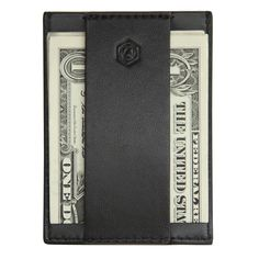 Capsule - CashStrap™  w/ cash - slim leather wallet