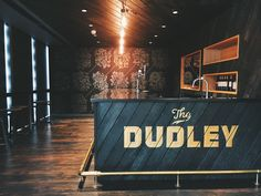 The Dudley bar in the Zendesk London office - in loving memory of the smouldering ruins of The Dudley Pub, Paddington.