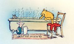 """""""I don't feel very much like Pooh today,"""" said Pooh. """"There there,"""" said Piglet. """"I'll bring you tea and honey until you do. Milne, Winnie-the-Pooh Winne The Pooh, Winnie The Pooh Quotes, Winnie The Pooh Friends, Piglet Quotes, Bff Quotes, Friend Quotes, Eeyore, Tigger, Disney Love"""