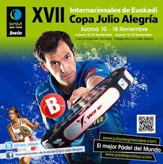 Bilbao acoge la fase final del torneo de pádel Internacionales de Euskadi - Copa Julio Alegría 2012  http://ow.ly/fjKbx
