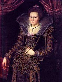 Christian 4. giftede sig Ifølge sine egne dagbogoptegnelser,  til venstre hånd med Kirsten Munk den 31. december 1615.  Kirsten Munk –  Maleri af Jacob van Doordt · Frederiksborgmuseet