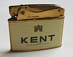 Online Antique and Collectibles Mall - over a half-million vintage antiques and collectible items for sale on-line. Cool Lighters, Cigar Lighters, Kent Cigarettes, Flintlock Pistol, Making Tools, Patent Prints, Vintage Lighting, Old And New, Inventions