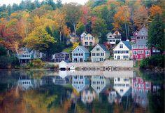 New Hampshire Foliage Drive | Directions | Yankee Magazine