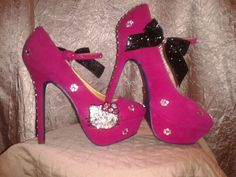 Hello Kitty Pink Mary Jane Pumps
